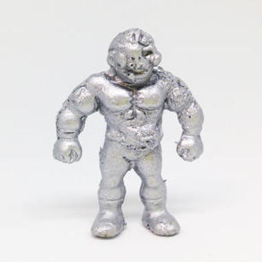 妖怪レスラー・ゾンビマン(銀)プラスチック人形