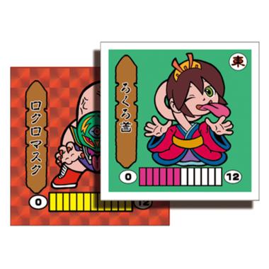第1弾 妖怪レスラー【シール版】(赤プリ・レッド) ろくろ首(ロクロマスク)