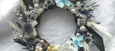 Rose mary mini wreathe