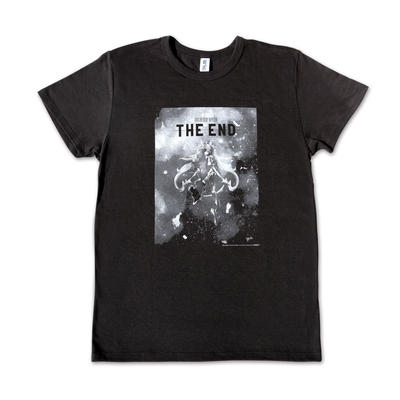 『THE END』初音ミク Tシャツ BLACK