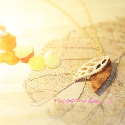屋久杉&夜光貝 leaf