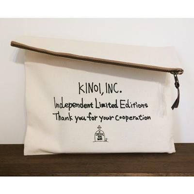 KINOI,INC. 独立記念クラッチバック(Naturalのみ)