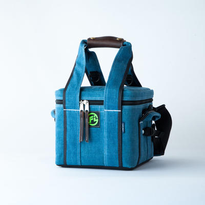 FIRST IMPRESSIONS  x  AWAJI 藍LAND project   7inch Record Bag