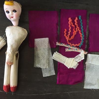 ●珍品 ●手作り人形キット