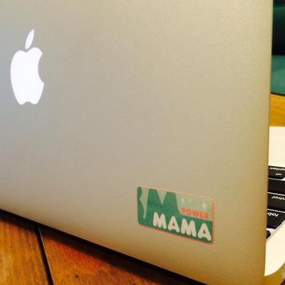 パワーママプロジェクトステッカー