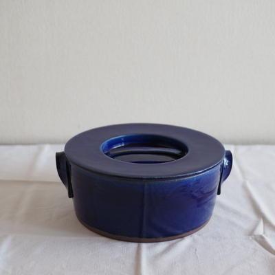 馬酔木 誠(アセビマコト)さんのキャセロール    4合炊き ブルー