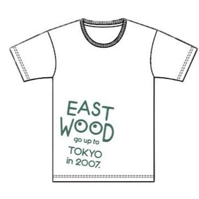 2017 EAST WOOD Tシャツ (ホワイト)