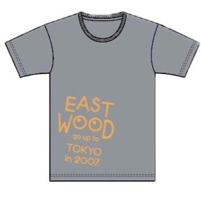 2017 EAST WOOD Tシャツ (ヘザーグレー)