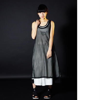 0658 long dress  tanktop/2color