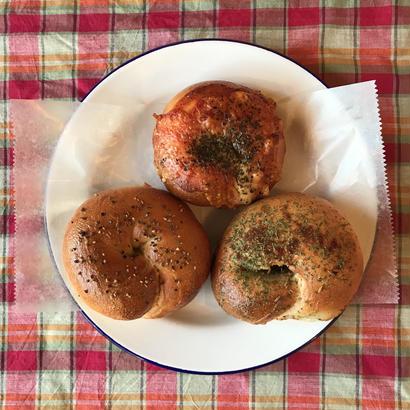 お惣菜系ベーグル3個セット