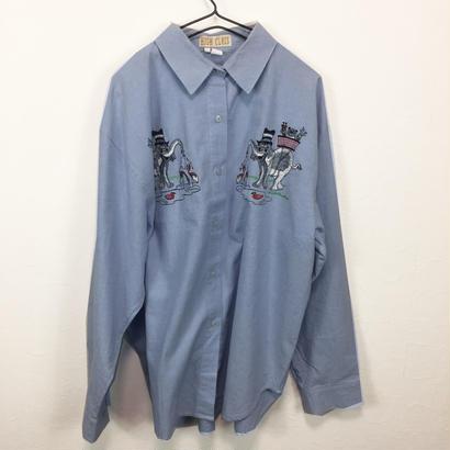 elephant design shirt