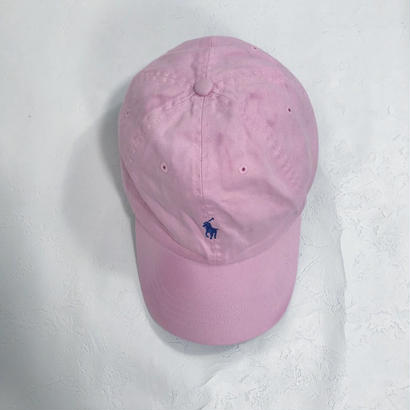 pastel pink cap(Ralph Lauren)