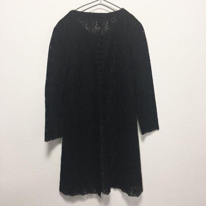 black race cardigan