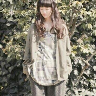 かけ間違いのシャツ 3aw-159