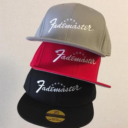 """<閉店セール!> """"FADE MASTER""""  BASEBALL HAT =Script Logo="""