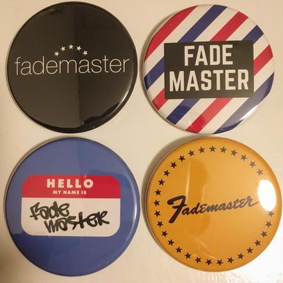 """FADE MASTER""4 × Tin Badge Set (TYPE B)"