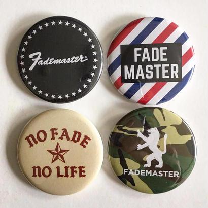 """""""FADE MASTER""""4 × Tin Badge Set (TYPE A)"""