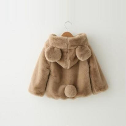 送料無料❤︎bear coat❤︎2color❤︎100−140