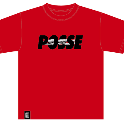 POSSE tee (RED)