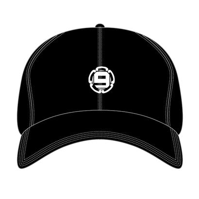 9 kamon polo cap (BLACK)