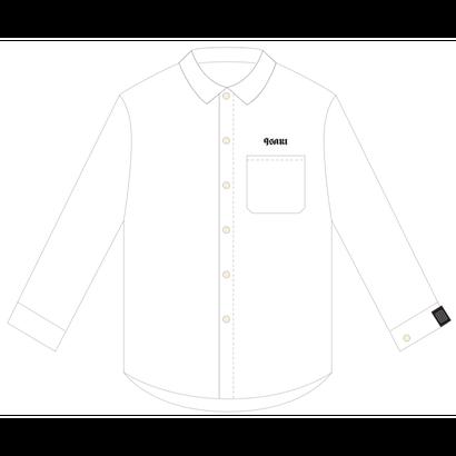 9sari work shirts (WHITE)
