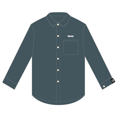 9sari work shirts (CHARCOAL)