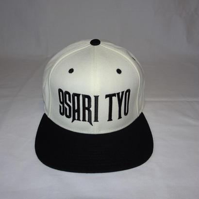 9SARI TYO SNAPBACK CAP (WHITE)
