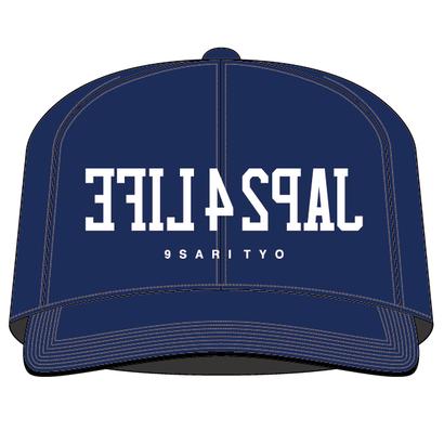 JAP24LIFE SNAPBACK CAP (NAVY)