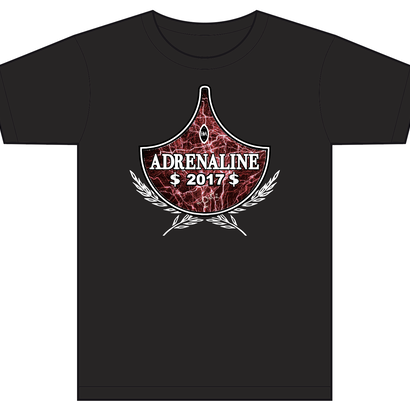 ADRENALINE 2017 Tee (BLACK)