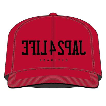 JAP24LIFE SNAPBACK CAP (RED)