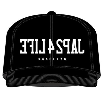 JAP24LIFE SNAPBACK CAP (BLACK)