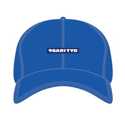 9sari polo cap (BLUE DENIM)