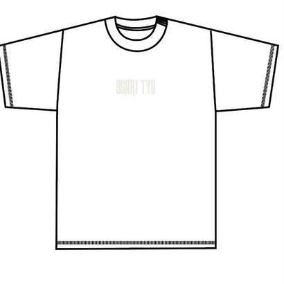 9SARITYO LOGO tee (WHITE/WHITE)