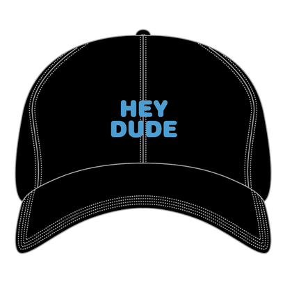 HEY DUDE polo cap (BLACK)