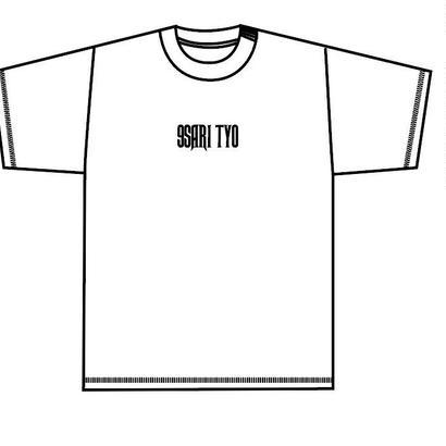 9SARITYO LOGO tee (WHITE)