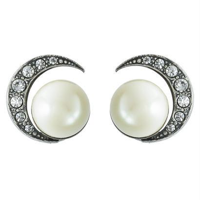 MOON pearl earring