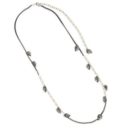 FEUILLES long necklace