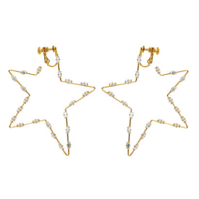 FILIGREE POP STAR pierce/earring