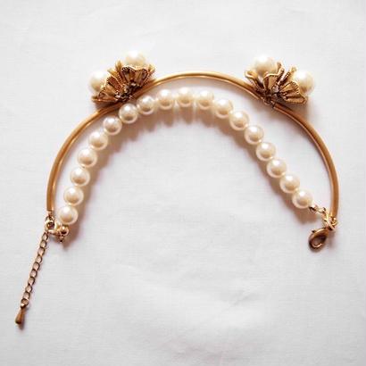 SNOW DROP 2way bracelet