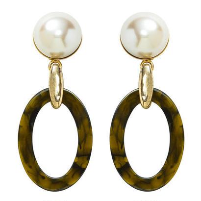 SAFARI pearl pierce/earring