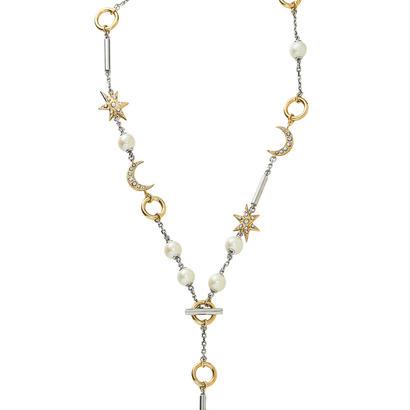 MOON&STAR multi lariet (gold/silver)