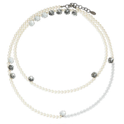 BOUQUET long  pearl necklace
