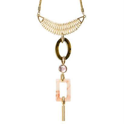 SAFARI adjaster rattan necklace