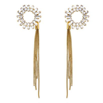 SPARKLE 3way pierce (gold)