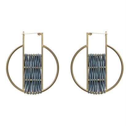 GLOBE rattan hoop pierce
