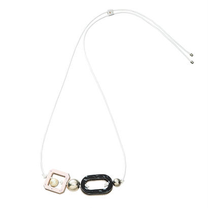 RETROlether adjaster necklace (silver)
