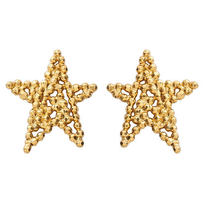 CUTSTEEL star solo pierce/earring (gold)