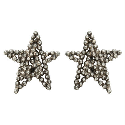 CUTSTEEL star solo pierce/earring (silver)
