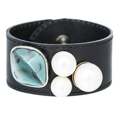 RETRO lether bangle