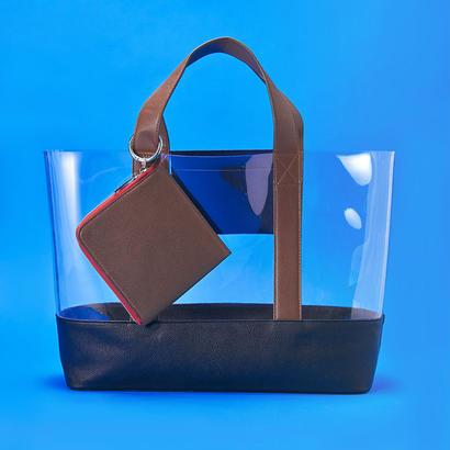 PVC Tote Bag - BLK